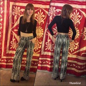 Pants - Boho flowy pants